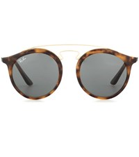 Ray Ban Gatsby Rb4256 Round Sunglasses Brown