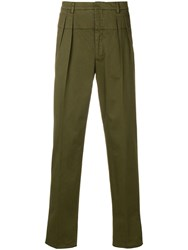 Gabriele Pasini Tapered Trousers Green