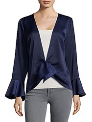 Plenty By Tracy Reese Bell Cuffs Draped Top Twilight