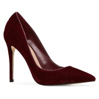 Aldo Stressy High Heel Courts With Pointy Toe Red
