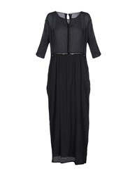Pomandere Long Dresses Black