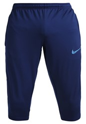 Nike Performance 3 4 Sports Trousers Binary Blue Industrial Blue