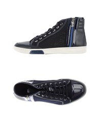 Dirk Bikkembergs Footwear High Tops And Trainers Women Dark Blue