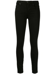 Nobody Denim Geo Skinny Jeans Black