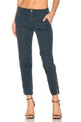 Mother The Misfit Crop Pant Navy