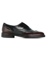 H By Hudson 'Affix' Slip On Oxford Shoes Red