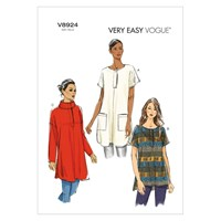 Vogue Very Easy Women's Tunic Sewing Pattern 8924