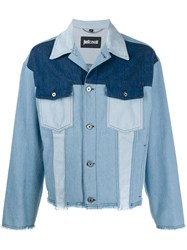 Just Cavalli Patchwork Denim Jacket 60