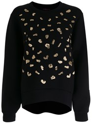 Manish Arora Embroidered Sweater Black