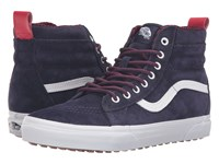 Vans Sk8 Hi Mte Mte Evening Blue True White Skate Shoes