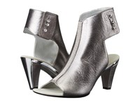 Onex Tux Pewter Leather High Heels
