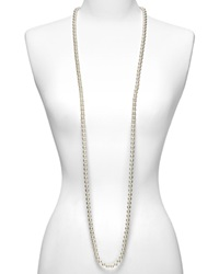 Majorica Women's 8Mm Round White Simulated Pearl Endless Necklace 60