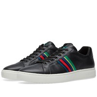 Paul Smith Lapin Grosgrain Sneaker Black