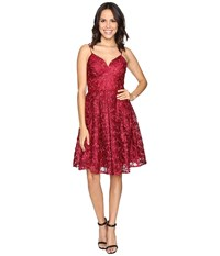 Rsvp Monterey Party Dress Red Multi Women's Dress