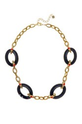 House Of Harlow The Vivianne Statement Necklace Blue