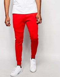Nike Tf Skinny Joggers In Red 805162 654 Red