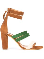 Alexa Wagner Betsy Sandals Brown