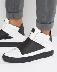 Religion Relm Hi Top Trainers White