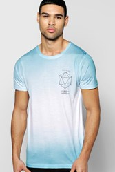 Boohoo Print Faded Tshirt White