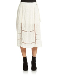 Free People Love Will Save You Midi Skirt Ivory
