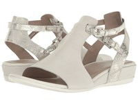 Ecco Touch 25 Hooded Sandal Shadow White Gravel Cow Nubuck Cow Suede Women's Sandals