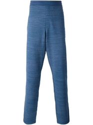 Missoni Patterned Track Pants Blue