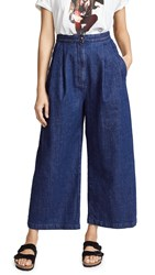Tortoise Lucy High Rise Baggy Trouser Jeans Indigo Vintage