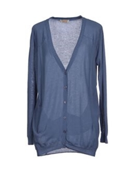 Twenty Easy By Kaos Cardigans Slate Blue