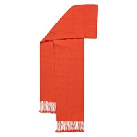Hobbs Orng Darcy Weave Scarf Coral