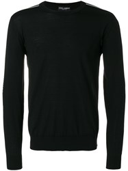 Dolce And Gabbana Millennials Sweater Black