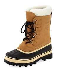 Sorel Caribou Shearling Lined All Weather Duck Boot Brown