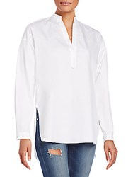 Rag And Bone Barcelona Tunic Top White