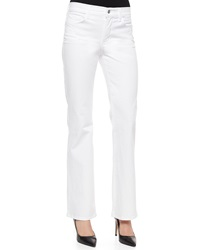 Nydj Sarah Pastel Boot Cut Jeans Foam White