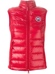 Canada Goose Padded Sleeveless Vest Red