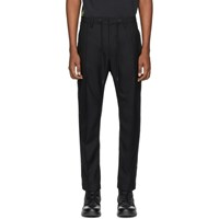 Diesel Black Wool Marlen Trousers