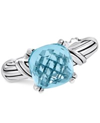 Peter Thomas Roth Blue Topaz Ring 5 1 2 Ct. T.W. In Sterling Silver