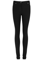 Givenchy Black Skinny Twill Trousers