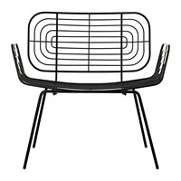Pols Potten Boston Lounge Chair Black
