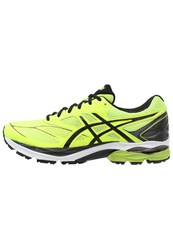 Asics Gelpulse 8 Cushioned Running Shoes Safety Yellow Black Onyx Neon Yellow
