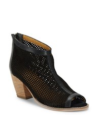 Charles By Charles David Unify Peep Toe Ankle Boots Black
