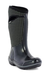 Bogs Women's Plimsoll Houndstooth Tall Waterproof Snow Boot