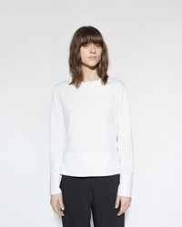 Marni Button Back Blouse Lily White