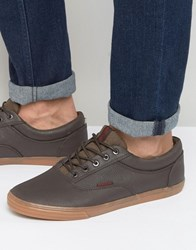 Jack And Jones Vision Plimsolls Brown