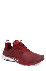 Nike Men's Air Presto Low Utility Sneaker Team Red White Black