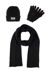 Your Turn Set Scarf Black