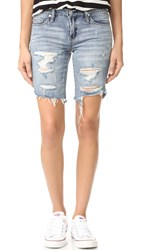 Blank Distressed Shorts Chills And Thrills