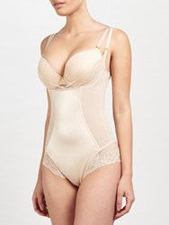 John Lewis Glamour Lace Control Body Nude