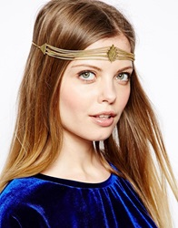 Made Kutata Chain Diamond Headband Gold