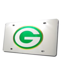 Rico Industries Green Bay Packers License Plate Silver