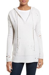 Autumn Cashmere Women's Distressed Hoodie